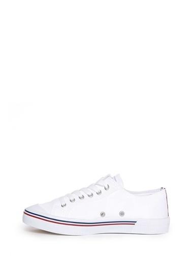 U.S.Polo Assn. Ayakkabı Beyaz